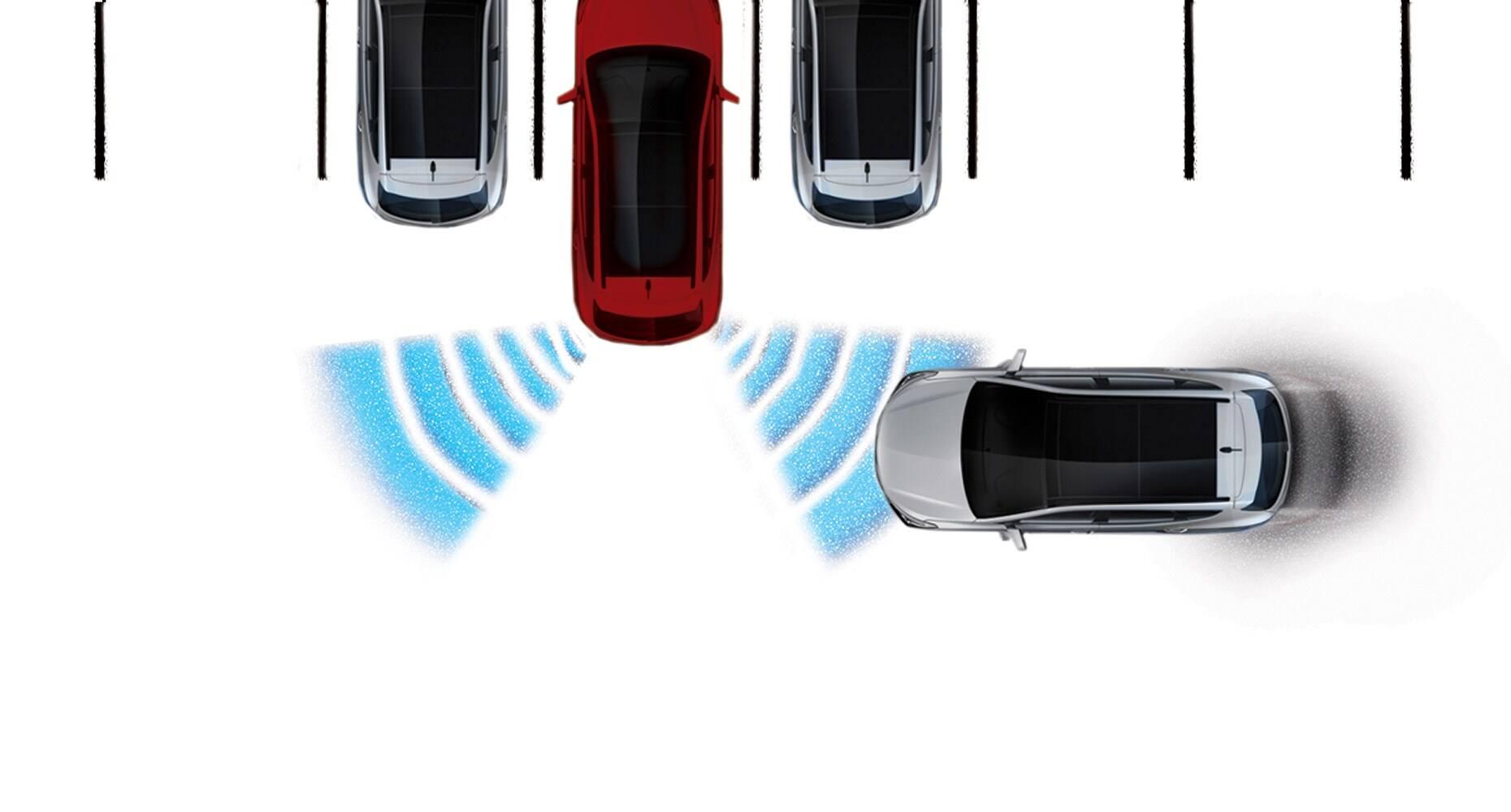 Rear Cross-Traffic Alert