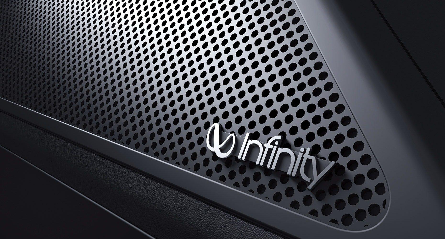 8-speaker Infinity® audio system
