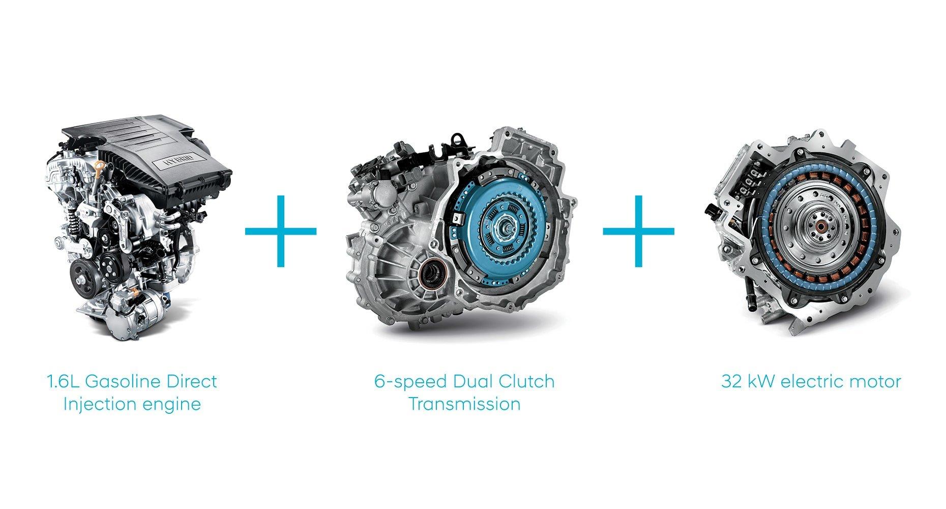 1.6L GDI engine