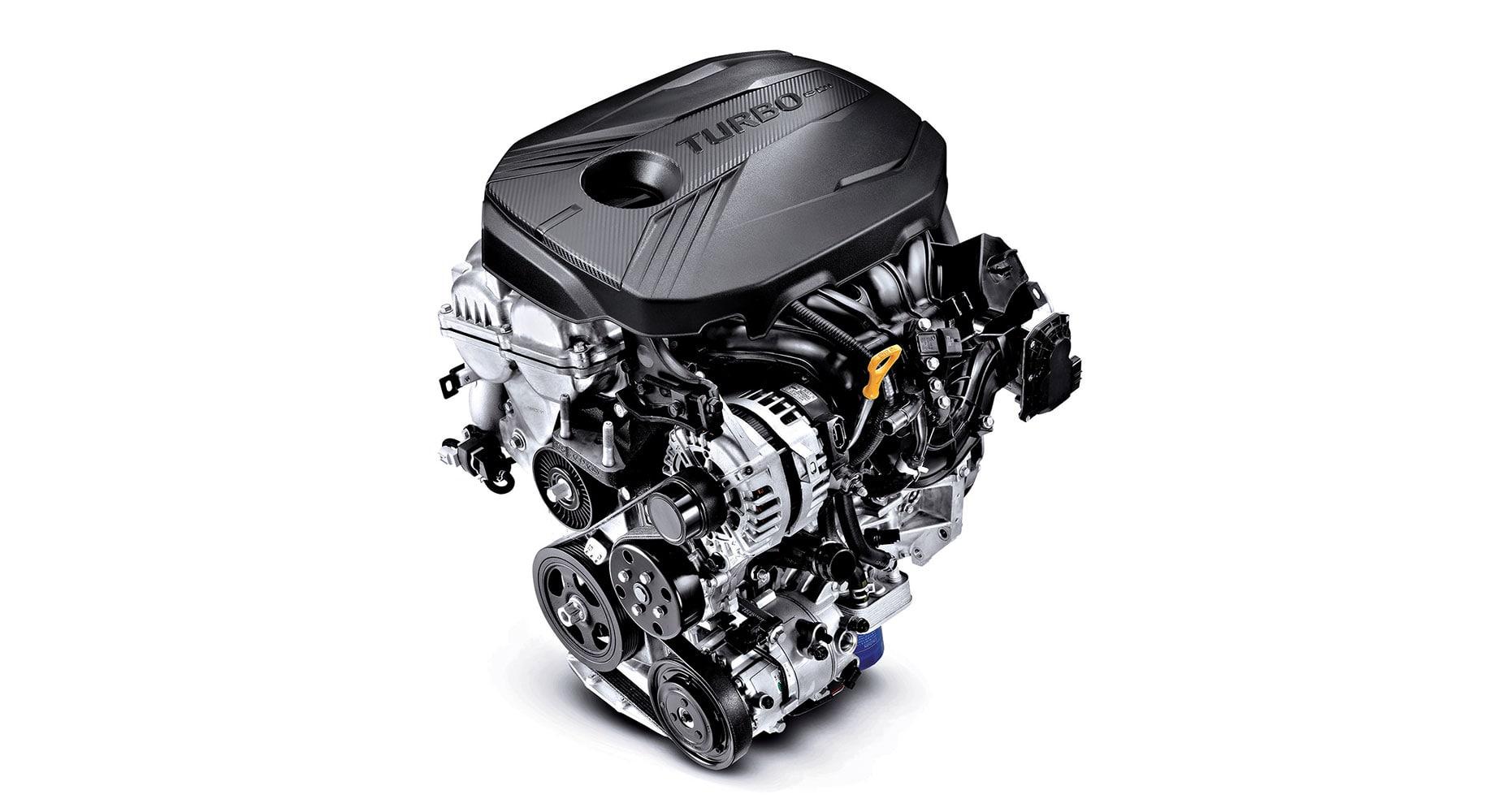 1.6L Turbocharged GDI engine